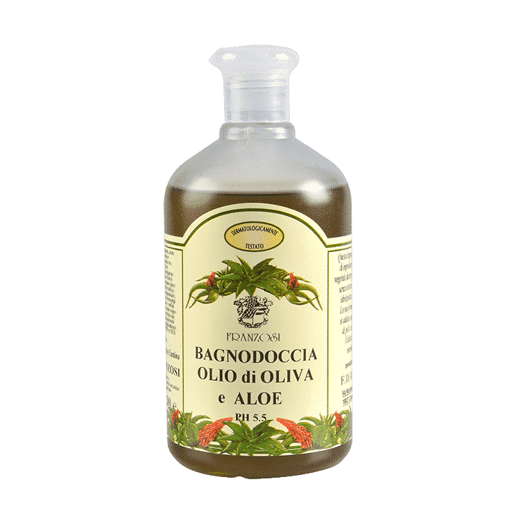 Bagno doccia all Aloe e Olio Extra Vergine di Oliva