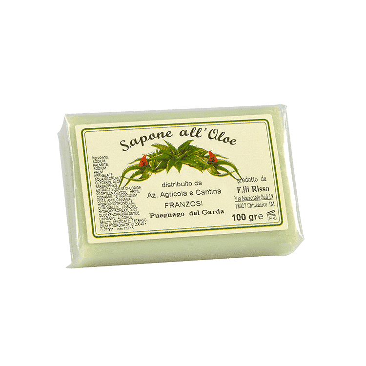 Saponetta all Aloe e Olio Extra Vergine di Oliva