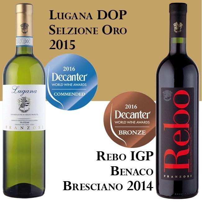 Premio Decanter Rebo Lugana 2016