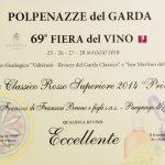 DIPLOMA-5579-GARDA-CLASSICO-ROSSO-SUPERIORE-PREVILEGIO-2014