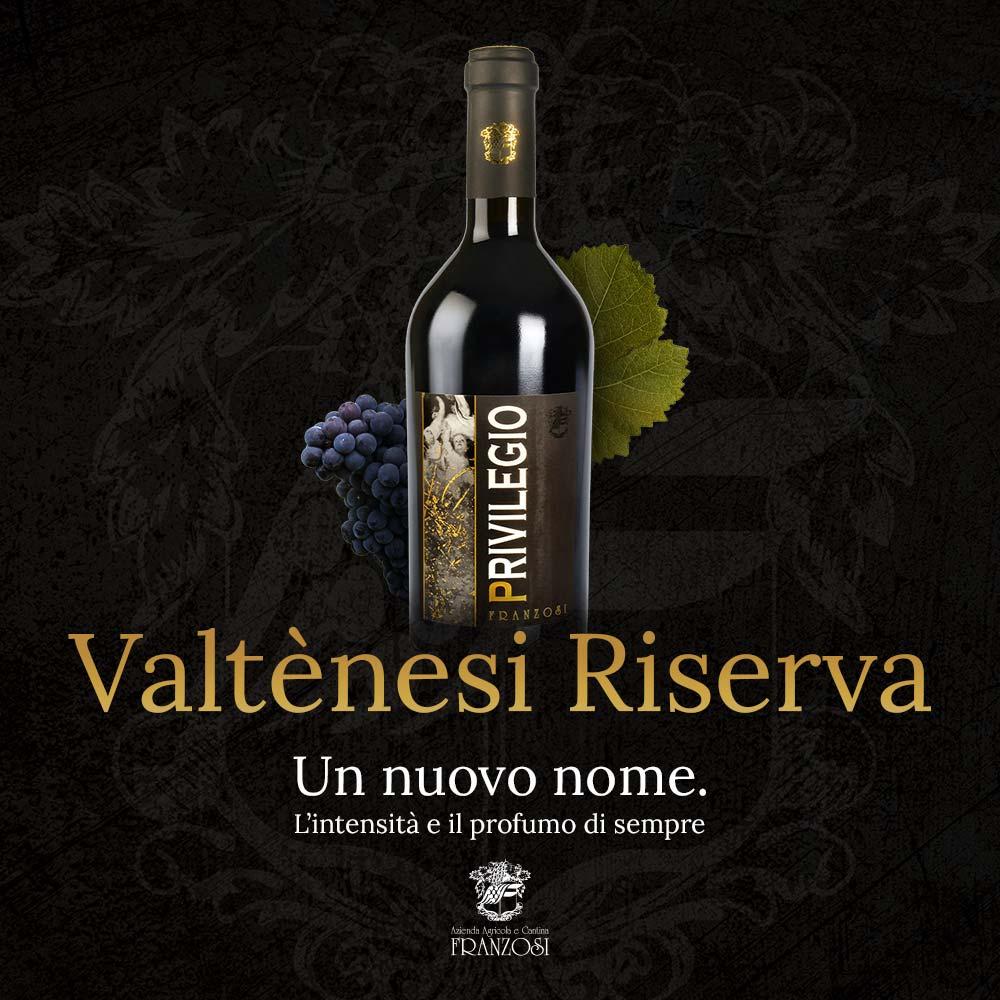 """""""Privilegio"""" Valtènesi Riserva Riviera del Garda Classico DOP"""